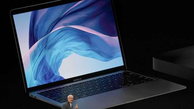 日本Q2電腦出貨優於預期 蘋果成長幅度居首 (圖片:AFP)