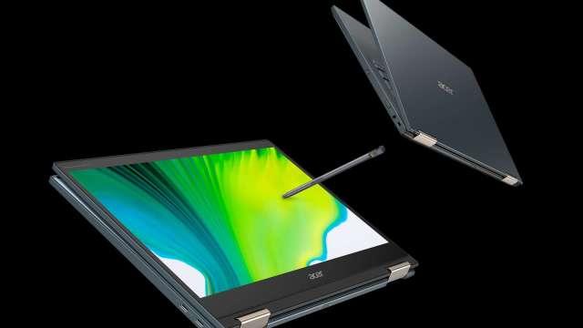 Acer Spin 7可翻轉筆電。(圖:宏碁提供)