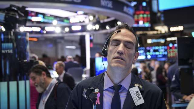 〈美股盤後〉VIX衝高!科技股引爆股災 道瓊暴跌逾 800 點 (圖片:AFP)