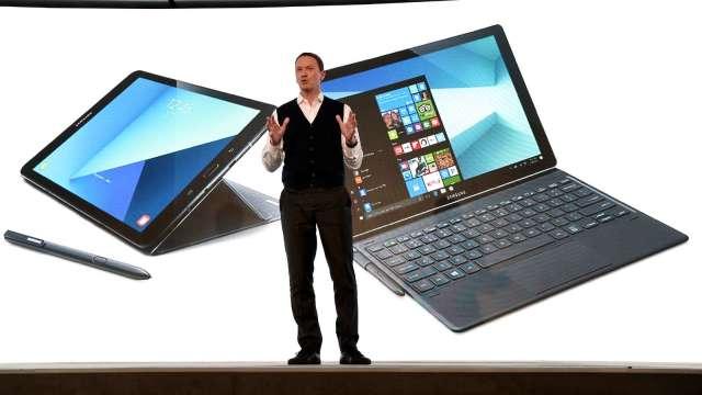 三星平板Q2奪下EMEA市占冠軍 氣走蘋果iPad (圖片:AFP)