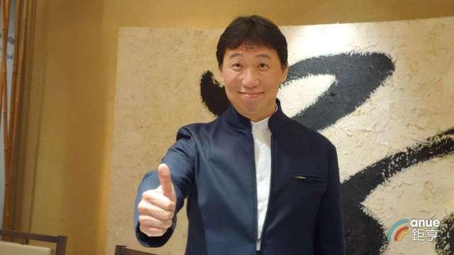鮮活果汁-KY董事長黃國晃。(鉅亨網記者張欽發攝)