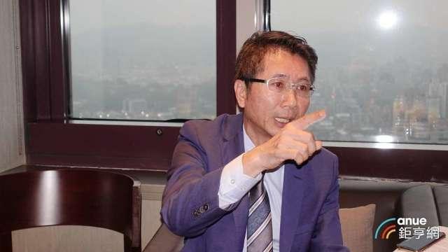 邑錡董事長陳世哲。(鉅亨網記者張欽發攝)