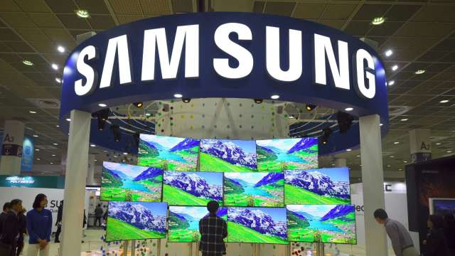 4K大尺寸電視銷量H1成長23% 三星、LG奪近半市占 (圖片:AFP)
