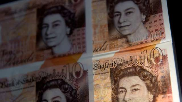 強生推高英國無協議脫歐風險 英鎊兌美元急挫(圖:AFP)