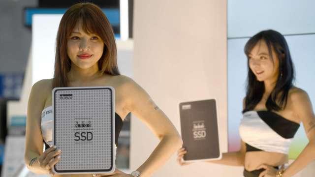 SSD成為日本市場主流 去年電腦產品採用率達6成 (圖片:AFP)