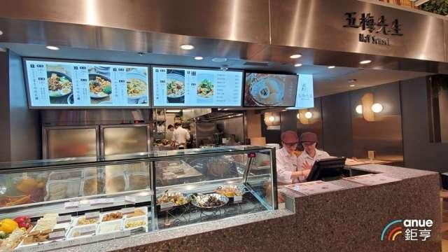 漢來美食旗下小蔬食品牌「五梅先生」。(鉅亨網資料照)
