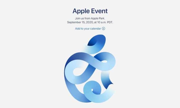 蘋果週二宣布秋季發表會時程 (圖片:蘋果官網)