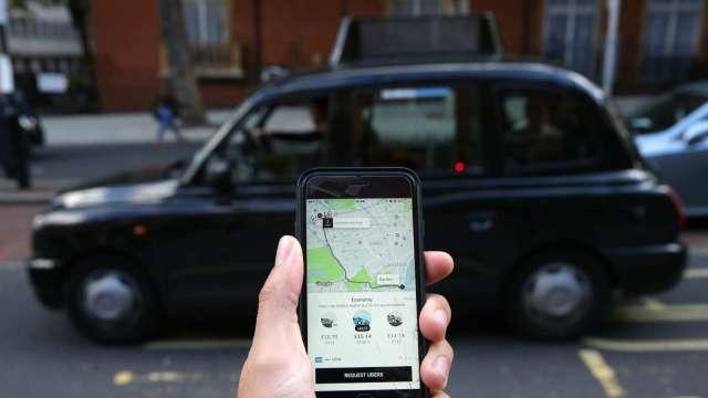 力拼零碳排放! Uber承諾2040年前實現100%電動化(圖片:AFP)