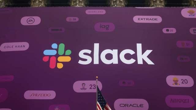 〈財報〉 Slack營收年增不如對手Zoom 盤後股價暴跌逾18%(圖片:AFP)