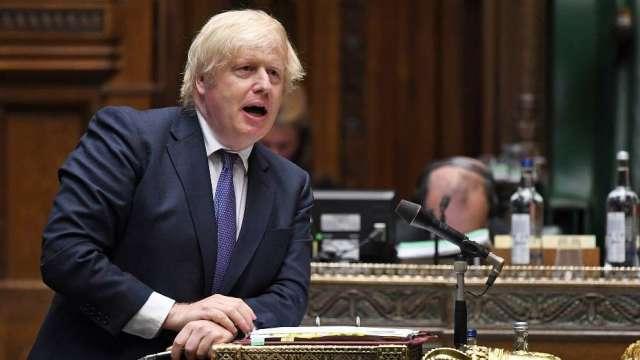 英官員承認:強生政府試圖修改脫歐協議 雖然這違背國際法(圖:AFP)