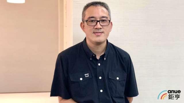 立凱-KY董事長張聖時。(鉅亨網記者魏志豪攝)