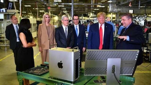 業內人士:蘋果自製晶片將於第4季量產 採用台積電5奈米工藝(圖:AFP)