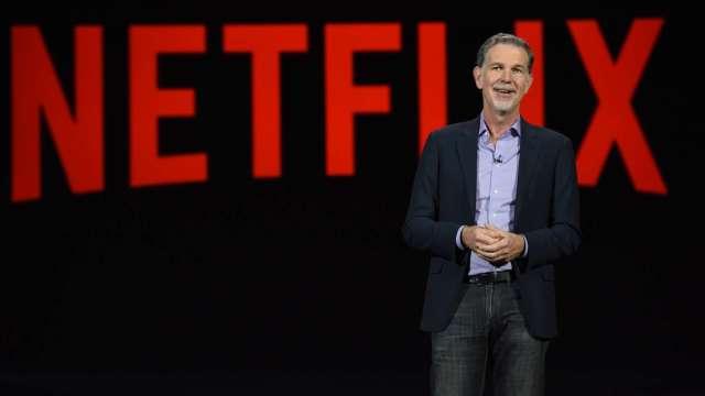 Netflix 共同執行長 Reed Hastings (圖:AFP)