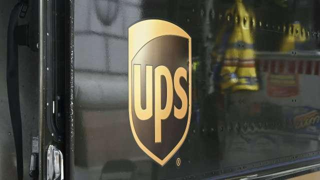 因應美國年底旺季需求 UPS計畫增聘10萬名員工(圖片:AFP)