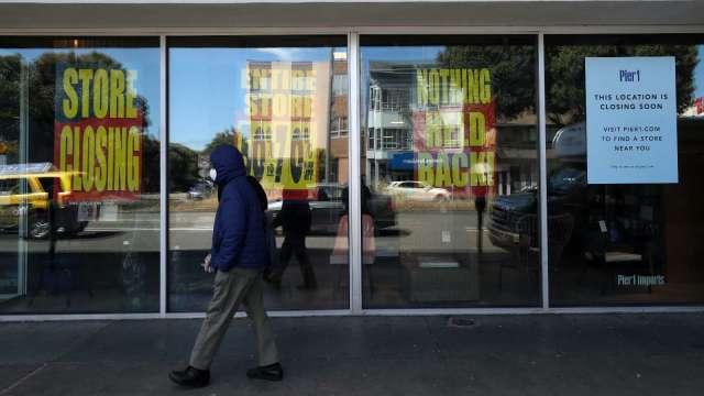 疫情衝擊美國經濟 美企業破產數創下10年來新高(圖片:AFP)