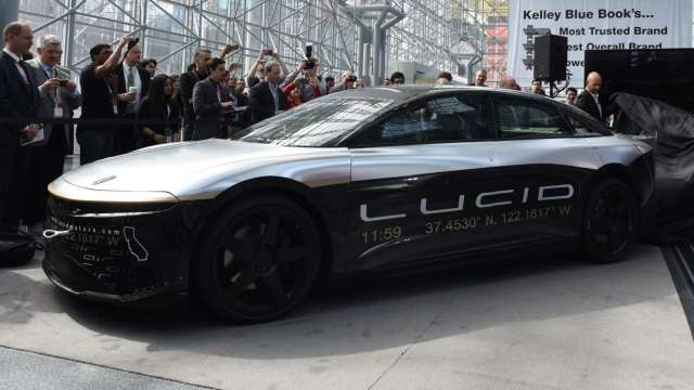 Model S勁敵Lucid「Air 」2021年問世 (圖片:AFP)