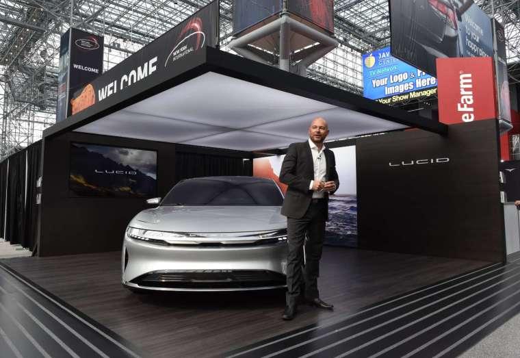 Model S 勁敵 Lucid「Air 」2021 年問世 (圖片:AFP)
