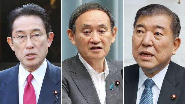安倍經濟學該如何繼續?日本首相候選人各有調整方向 (圖片:AFP)