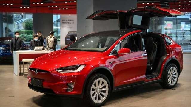 彭博:特斯拉計畫將中國製車輛 銷往亞洲及歐洲市場(圖:AFP)