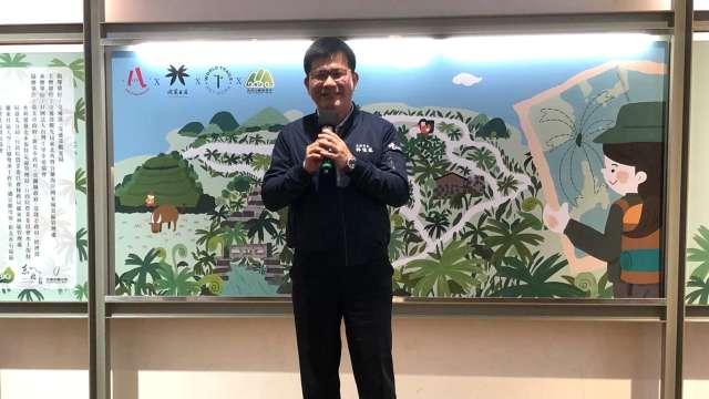 交通部長林佳龍。(圖:觀光局提供)