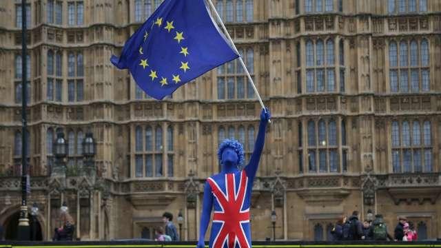 大摩:英國「硬脫歐」可能性增至40%(圖片:AFP)