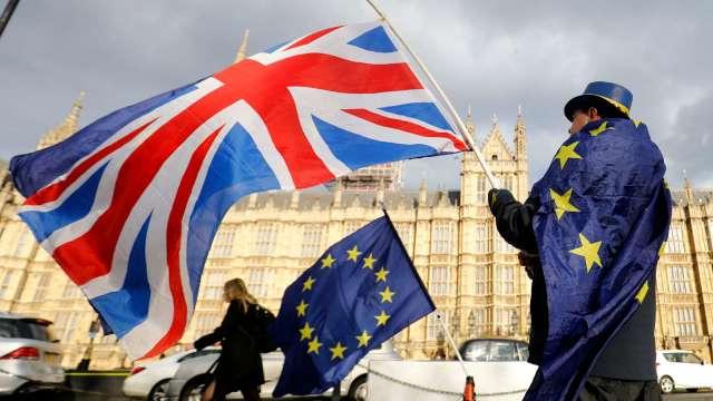 歐洲車業籲英國簽FTA 否則未來5年產值恐損失1100億歐元 (圖片:AFP)
