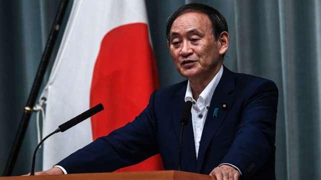 菅義偉當選日本自民黨總裁 將接任日本首相職務 (圖片:AFP)