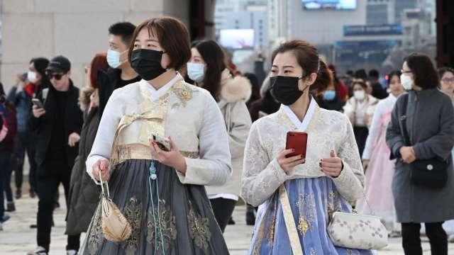 南韓僅0.07%民眾有新冠病毒抗體 無法期待群體免疫 (圖片:AFP)
