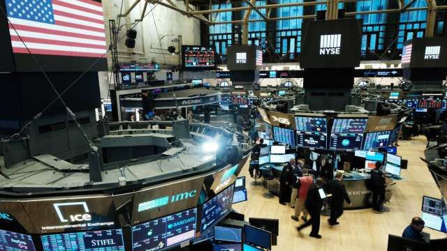 〈美股盤後〉揮別3月來最差週 道瓊反彈300點 費半漲逾2%(圖片:AFP)