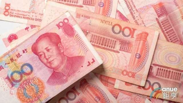 8月全體國銀人民幣存款餘額為人民幣2358.8億元,創6年7個月以來新低。(鉅亨網資料照)