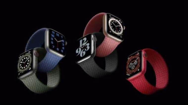 蘋果推出新品包括 Apple Watch Series 6、Apple Watch SE。(圖片:蘋果)