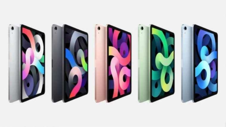 全新 iPad Air 有多種顏色選擇 (圖片:蘋果)