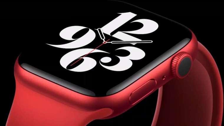 Apple Watch Series 6 效能比其上一代產品快 20%(圖片:蘋果)