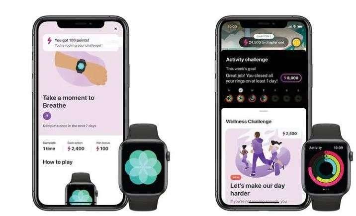 LumiHealth 可與 Apple Watch 配合 (圖片: CNS 轉自蘋果)