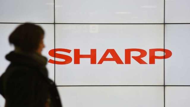 傳蘋果要求夏普增加手機面板供貨 白山工廠拼年內重啟 (圖片:AFP)