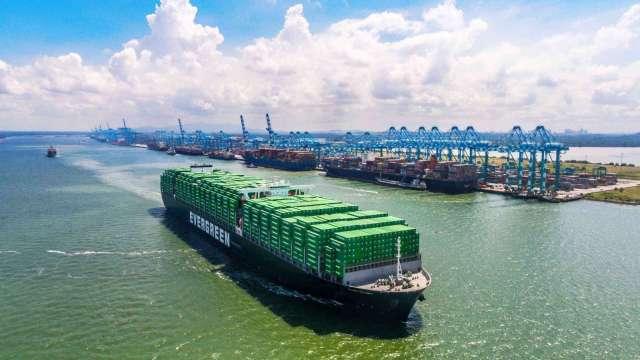 長榮海運強調與聯盟成員絕無市場定價合作。(圖:長榮提供)