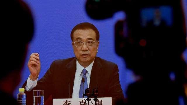 李克強:中國全年經濟有望正成長 實現年度主要目標(圖:AFP)