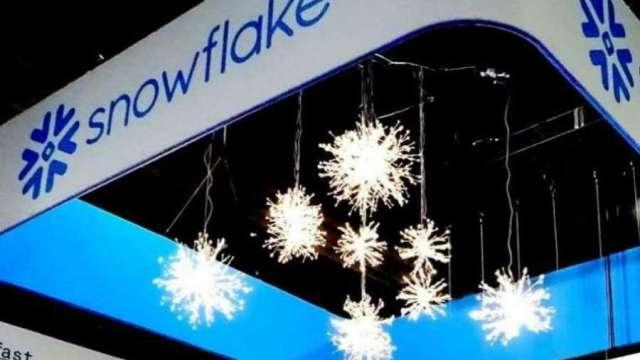 股神破戒押寶!Snowflake掛牌首日噴漲逾110%。(圖片:AFP)