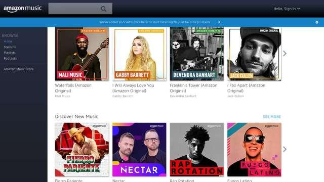 搶佔蘋果、Spotify地盤 亞馬遜串流音樂加入podcast (圖片:AFP)