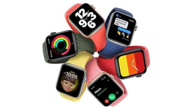 蘋果2款智慧手錶 中華電祭優惠0元帶回家。(圖:AFP)