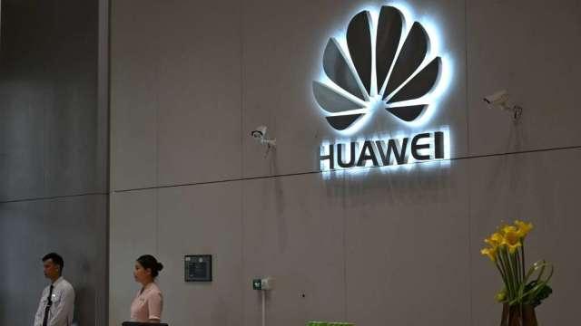 華為手機在中國出現漲價潮 消費者擔心高階手機缺貨(圖:AFP)