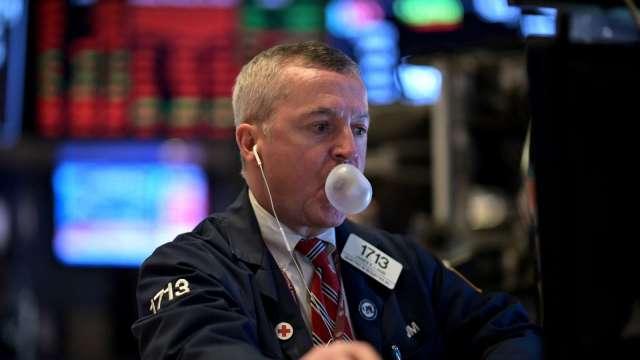 週四那指挫跌逾 1%,五個交易日內最差表現 (圖片:AFP)