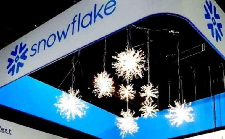 軟體公司 Snowflake(圖片:AFP)