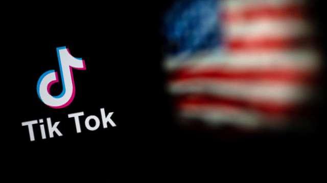 TikTok命運倒數計時!36 小時內川普 將做出決定。(圖片:AFP)