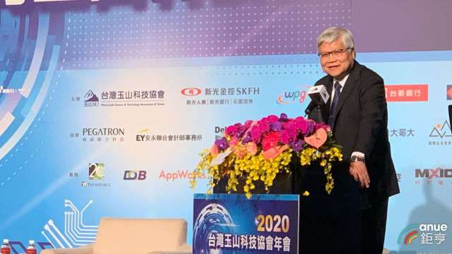 台積電總裁魏哲家今日出席台灣玉山科技協會年會。(鉅亨網記者林薏茹攝)