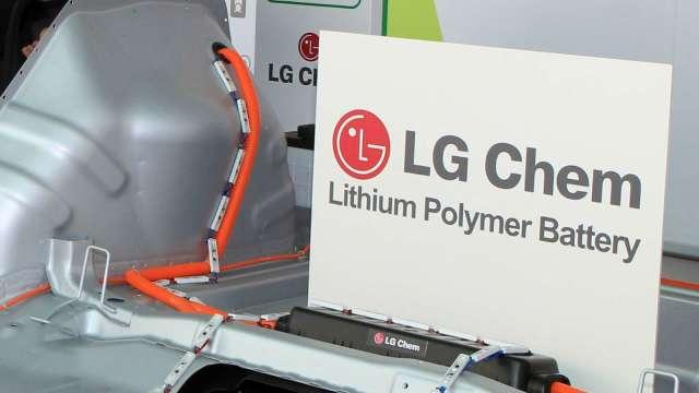 LG化學電池部門IPO案 估一年後上路 (圖片:AFP)