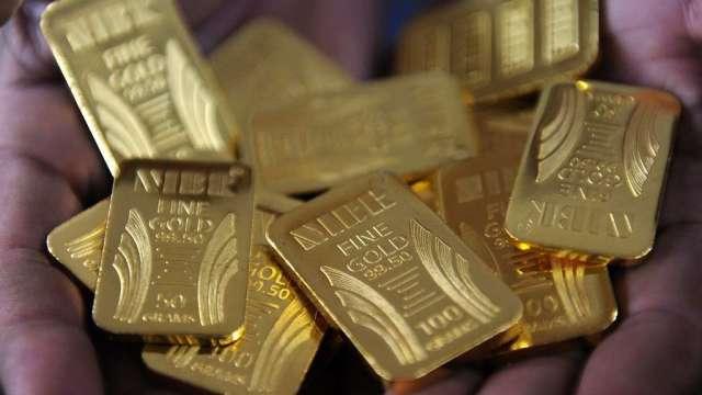 瑞銀持續看好黃金 上調明年金價預測至2100美元(圖:AFP)