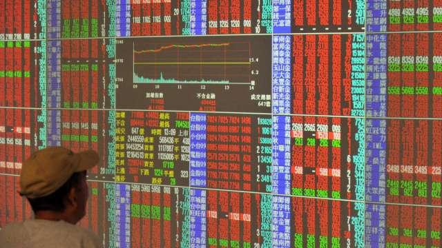 台股處於相對高檔區,持續回檔可能性仍大。(圖:AFP)