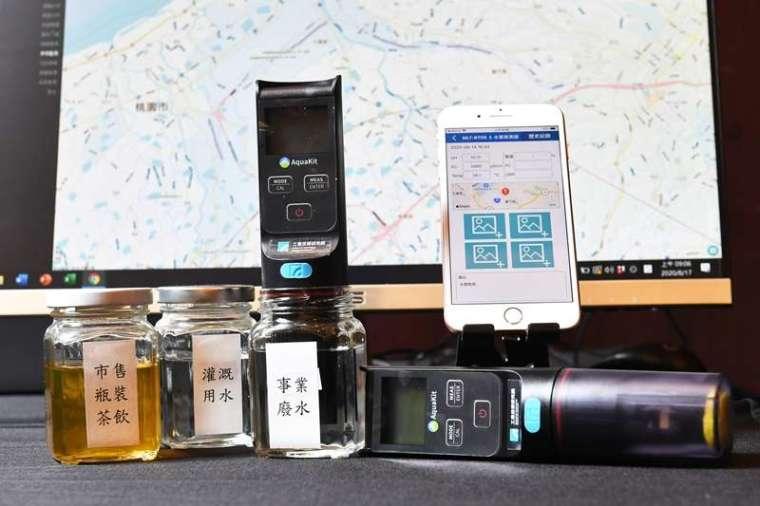 工研院首創重金屬銅離子檢測技術,並針對不同的情境及需求,研發固定式、移動式、手持式3款感測器,讓水質檢測更加全面。