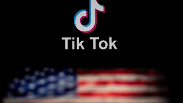 美國商務部證實:週日下架微信TikTok。(圖片:AFP)
